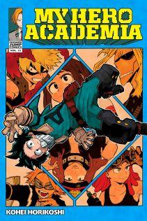 my hero academia vol 12 cover