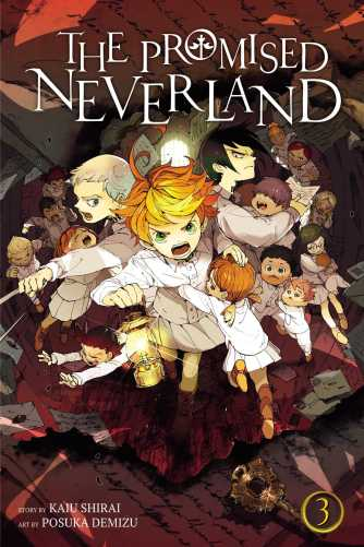 promised neverland 3 cover